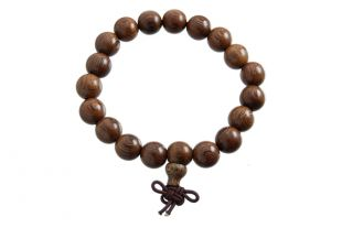 Saga Tree Wood Hand Mala 10mm