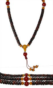 Rosewood Mala Abacus Shaped Large