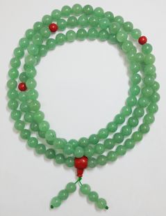 Aventurine 10mm mala (red)